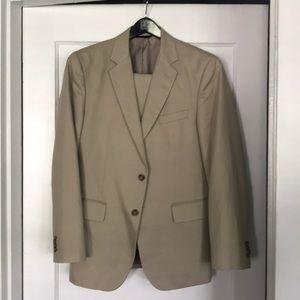 Banana Republic cotton/linen suit